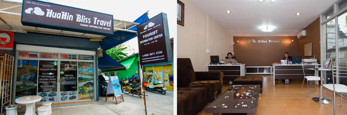 Bliss Travel Hua Hin Office