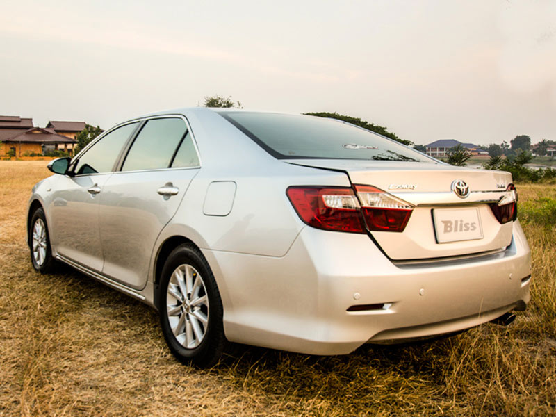 Toyota Camry Taxi Rear View