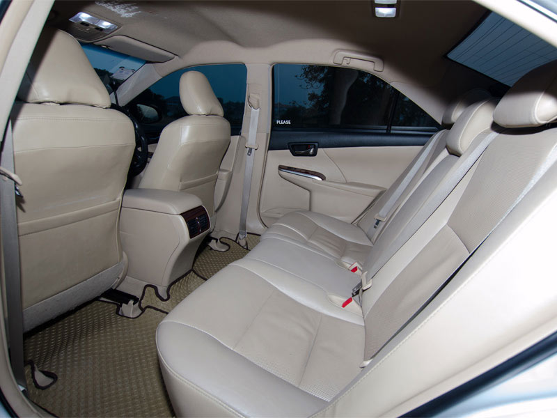 Toyota Camry Taxi Interior Rear